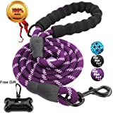 JBYAMUS 5 FT Strong Dog Leash Highly Reflective Threads Small, Medium Large Dogs.