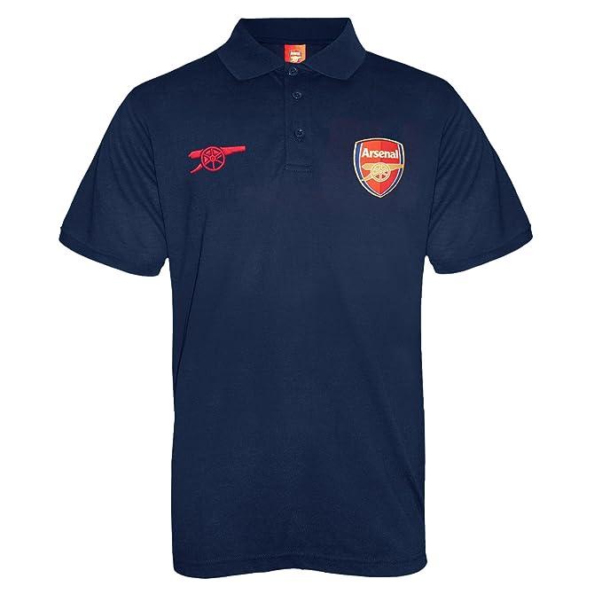 06b3b7f6c Arsenal FC Official Football Gift Mens Crest Polo Shirt  Amazon.co.uk   Clothing