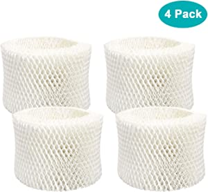 Lemige 4 Pack HAC-504 Humidifier Filters For Honeywell Humidifier HAC-504, HAC-504AW, HAC504V1, HCM350, HCM-350W, HCM-300T, HCM-315T, HCM-600, HCM-710, Replacement Filter A