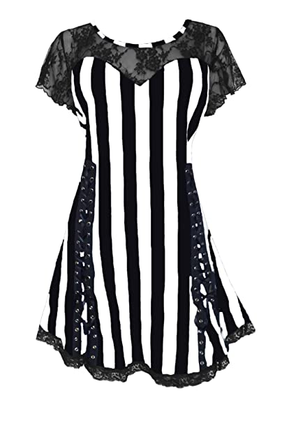 Amazon.com: Atrévete a usar estilo victoriano gótico bohemio ...