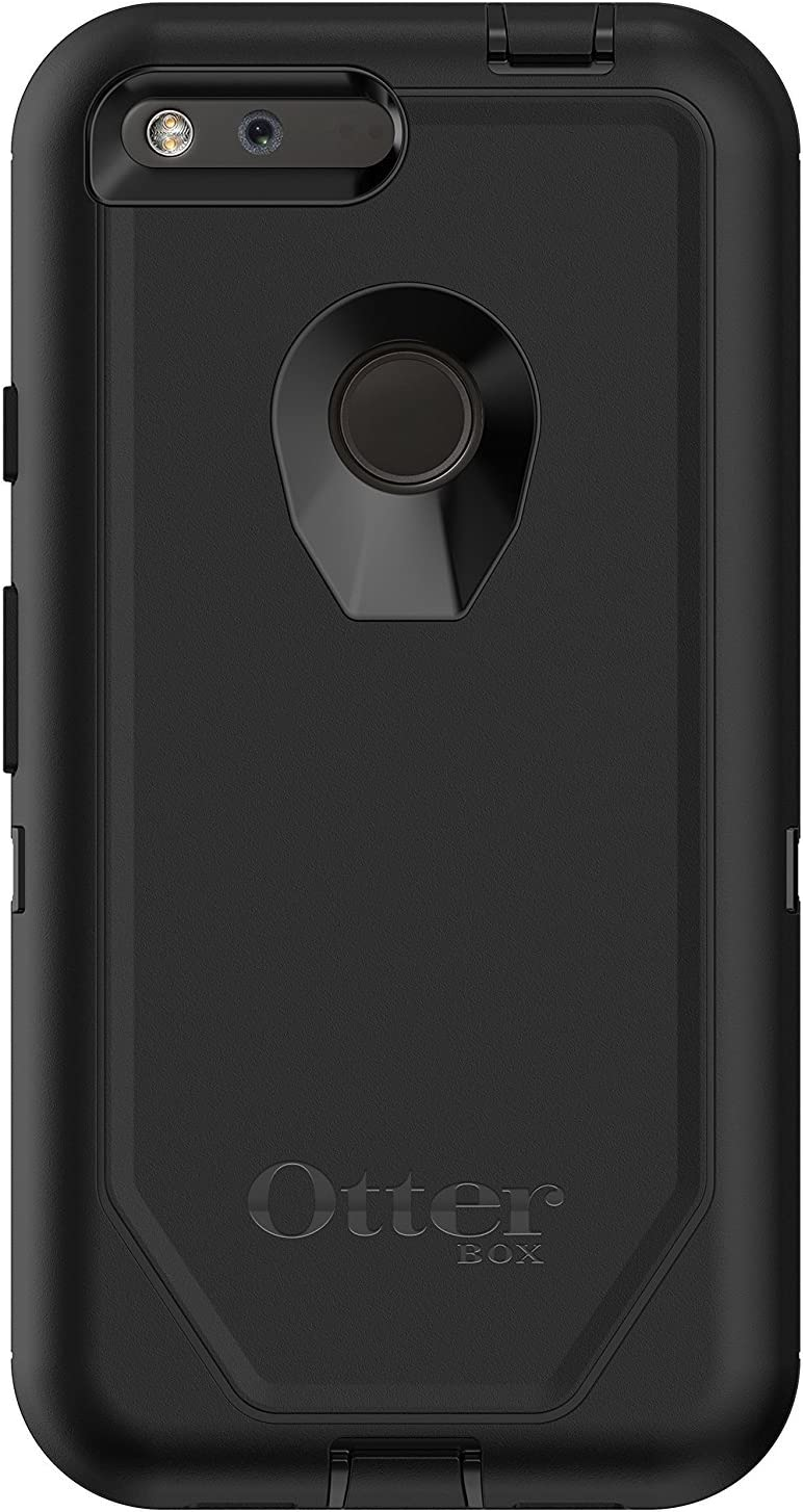 "OtterBox Defender Series Case for Google Pixel XL (5.5"" Version ONLY) - Retail Packaging - Black"