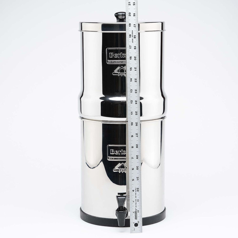 Big Berkey Water System, 4x purificadores negros ~ 4x PF-2 filtro de fluoruro ~: Amazon.es: Grandes electrodomésticos