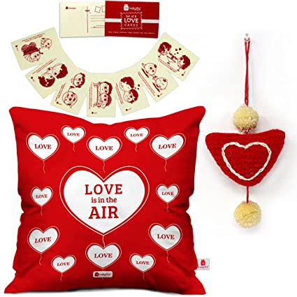 Buy Indigifts Valentines Day Love Is In The Air Quote Romantic