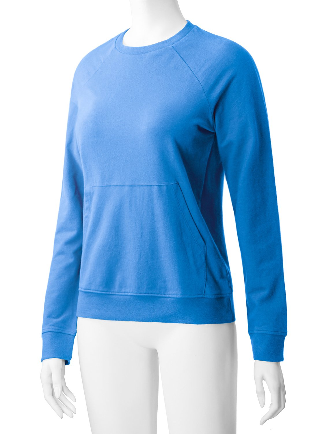 Regna X Women's Long Sleeve Crewneck Cotton Pullover Hooded Sweatshirts for Women by Regna X (Image #4)