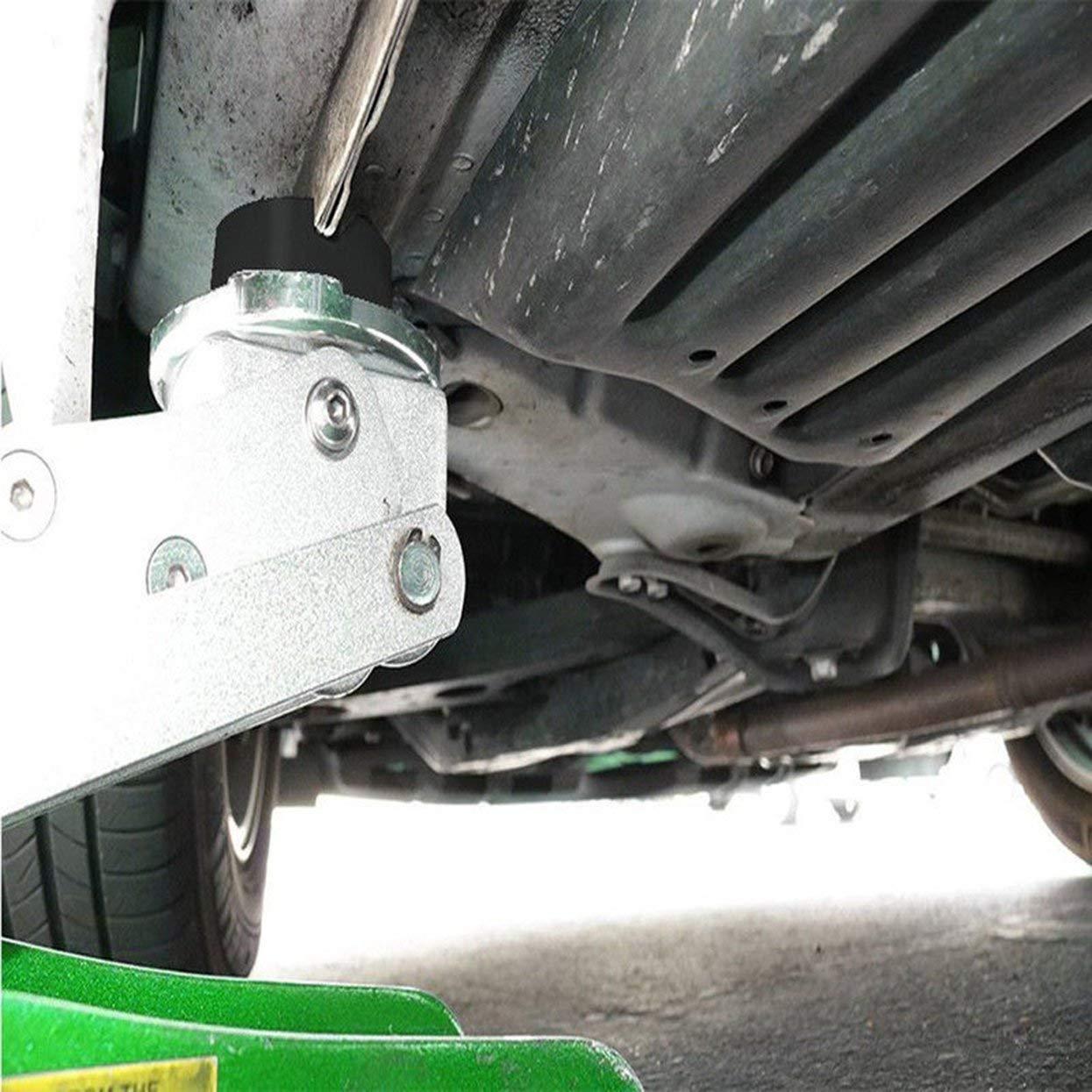 Tellaboull for 6.5CM Sollevamento Jack Pad in Gomma Telaio Durevole Protezione Dispositivo di Protezione Strumento Adattatore Auto Gomma Disc Accessori Auto