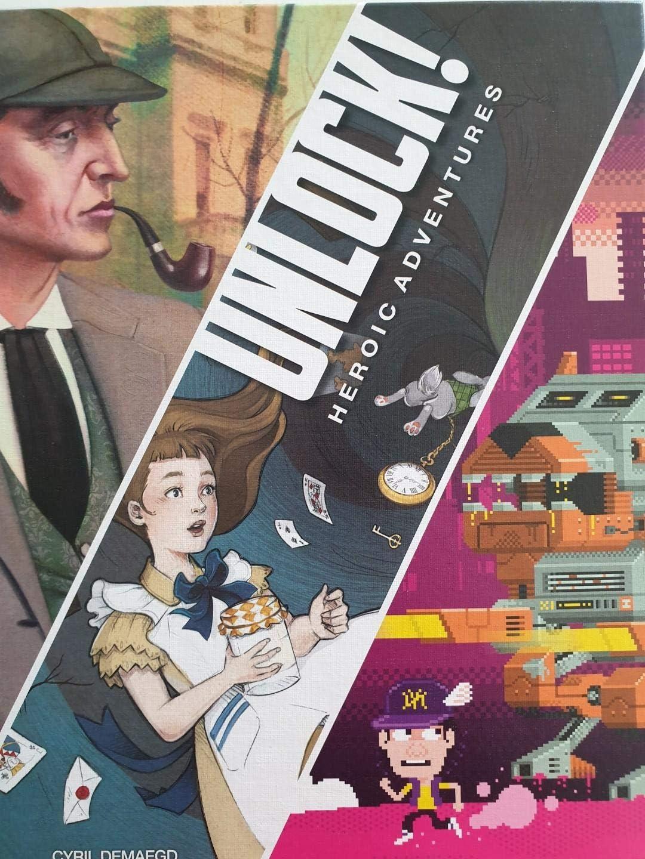 Unlock! Heroic Adventures Cover Art