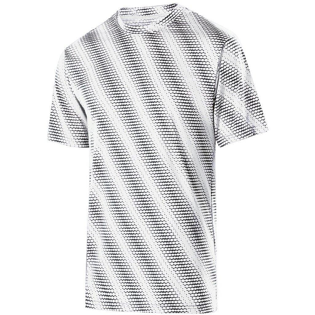 Holloway大人用Torpedo dry-excelシャツ ホワイト/カーボン 4L