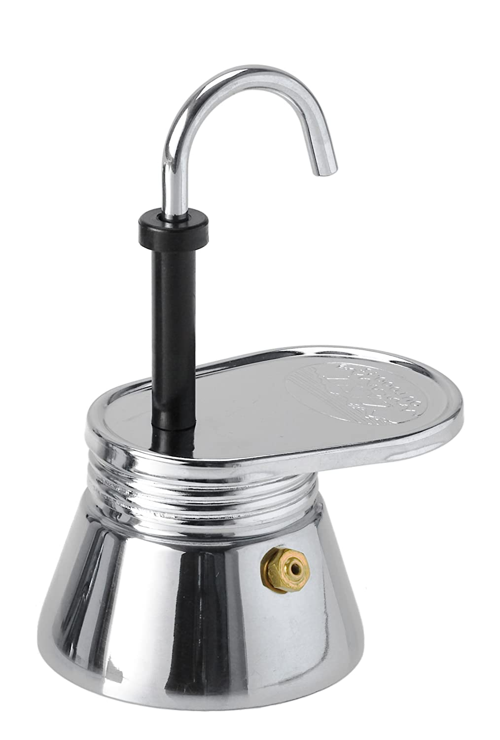 One Size Silver GSI Outdoors 63390 Glacier Stainless Double Walled Espresso Cup