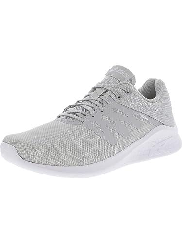 12a5dc670c1 ASICS Women's Comutora Running Shoe Black/Black/White 5 B(M) US ...