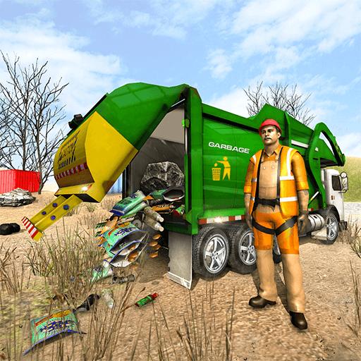 garbage truck simulator - 3