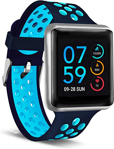 iTouch Air Special Edition Smartwatch Heart Rate Monitor, Blood Oxygen Monitor, Pedometer,...