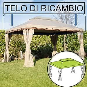 Verdelook - Toldo Carpa Roma 3 x 4 Amazon: Amazon.es: Jardín