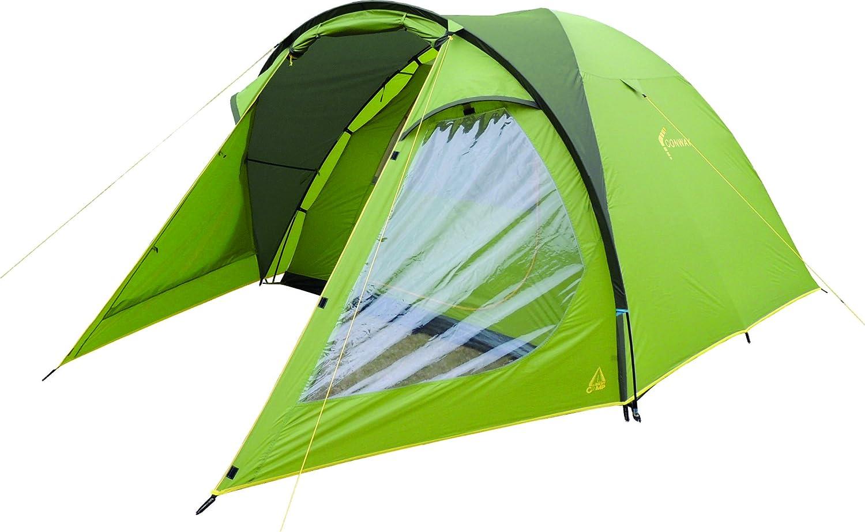 Best Camp Conway Kuppelzelt familiären grün/dunkelgrün 355 x 240 x 180 cm
