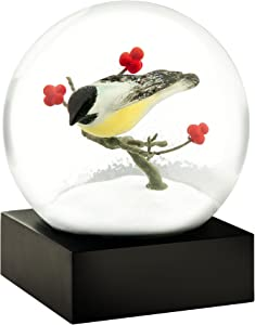 CoolSnowGlobes Chickadee Cool Snow Globe