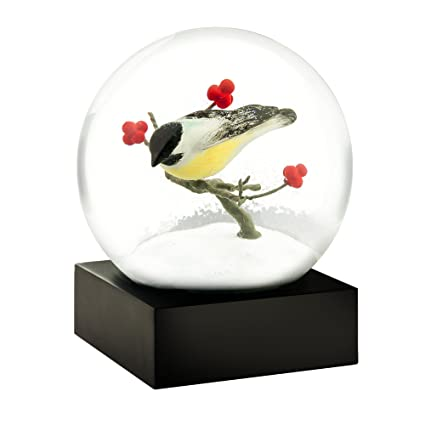 best price cheap for discount speical offer CoolSnowGlobes Chickadee Cool Snow Globe