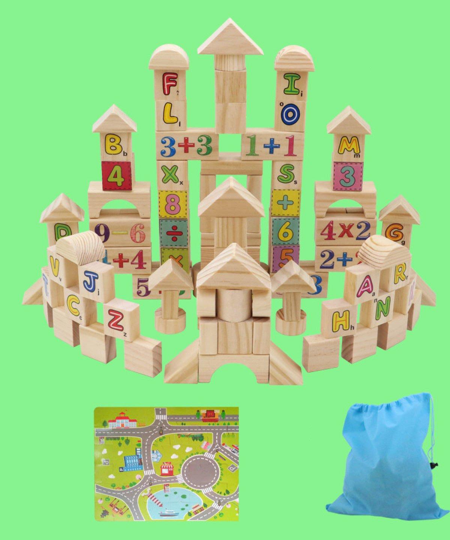 MEI Juguetes Para Niños Bloques Para Niños Bloques De Construcción Verdes Juguetes Educativos Para La Primera Infancia Para Niños Tamaño Del Producto: 9.4 Pulgadas  6.5 Pulgadas  11.8 Pulgadas,B