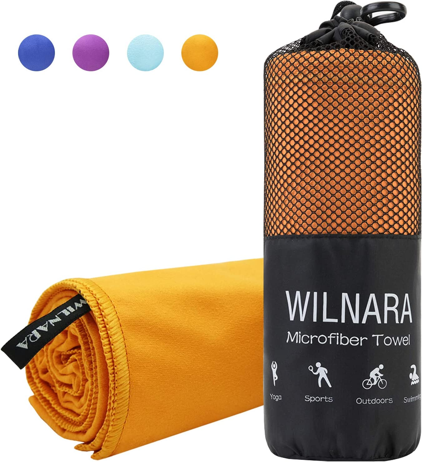 Atalanta Andrewly Cooling Towel Workout Towels Camp Multi-Purpose Travel Fast Drying Super Soft Beach Pool Compact Towel Printing Towel for Women Men Shower Blanket Yoga Gym 12/'/'x44/'/'