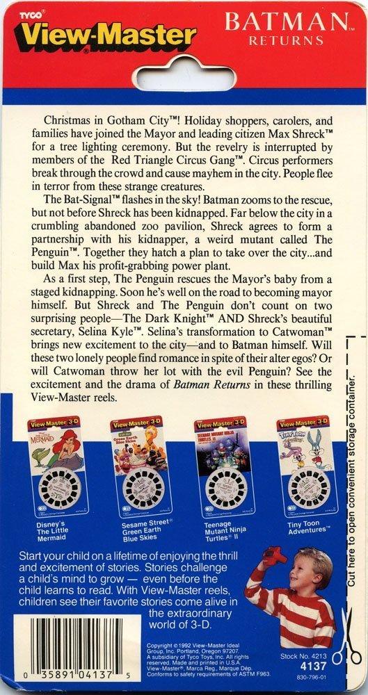 Batman Returns 3 Reels SET Classic ViewMaster