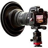 Original ULHgo Ultimate Lens Hood - Camera Lens Anti Reflection Lens Hood -Lens Skirt Antireflection - DSLR Rubber Lens Hoods - Fits 49mm to 82mm Lens Filter Thread - from Kickstarter