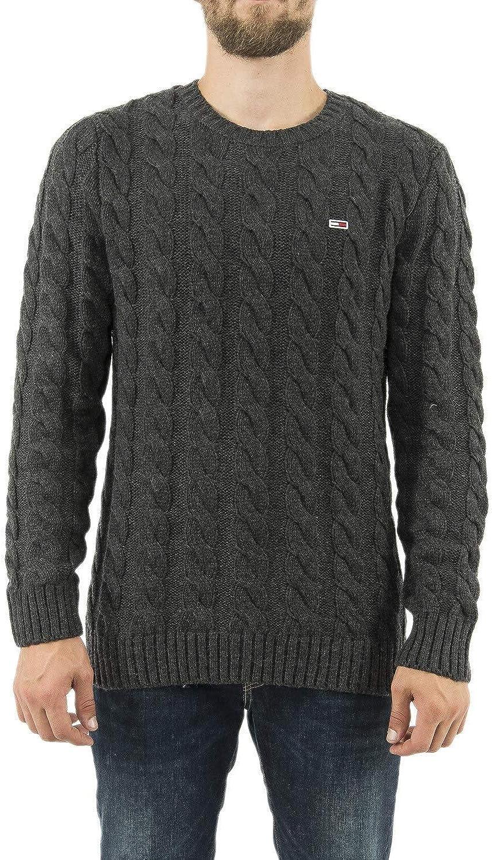 Tommy Hilfiger TJM Essential Cable Sweater Su/éter para Hombre