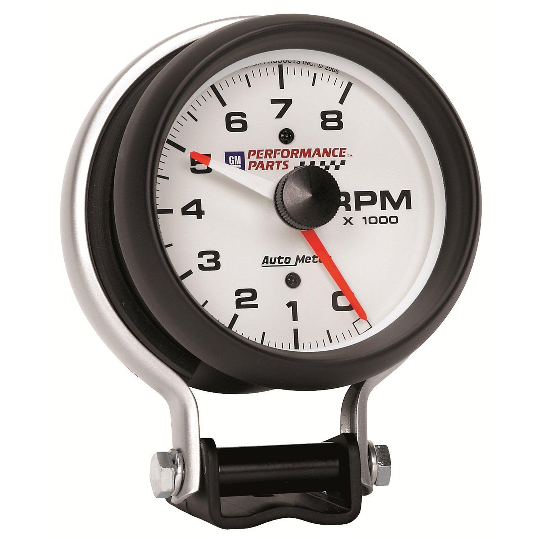 Auto Meter 5780-00407 GM Performance Parts 3-3//4 8000 RPM Electric Tachometer Gauge