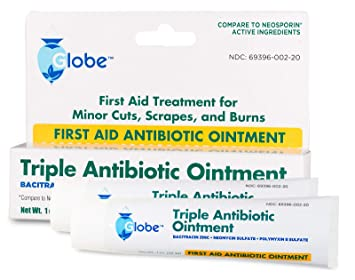Triple Antibiotic First Aid Ointment, 1 oz  (Compare to Neosporin) 2-Pack