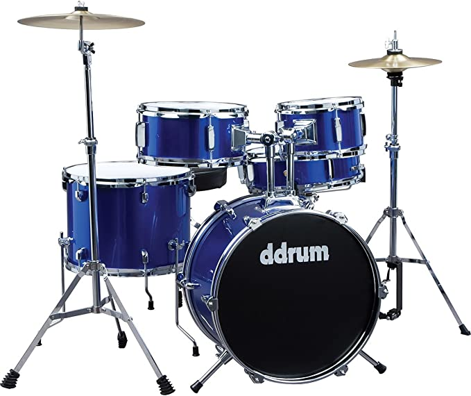 affordable and complete drum set for the youngest aspiring drummers