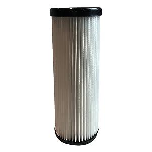 Crucial Vacuum Replacement Vacuum Filters Compatible with Dirt Devil F1 Vacs Parts 3-JC0280-000, 1-863118-000 - Fits Vacuum Cleaner Models Scorpion, Jaguar - HEPA Style - Bulk (1 Pack)
