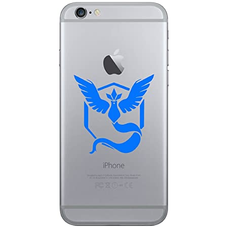 Pokemon go team mystic mobile phone vinyl sticker decal