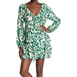 Free People Womens Rebecca Floral Mini Casual Dress