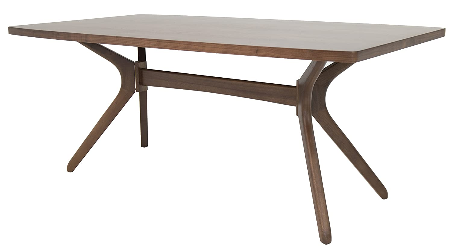 Impacterra Mh-512 Rectangular Dining Table in Montana Walnut