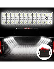 Favoto Car Interior Led Lights with 60led Van Interior Light Strips Kit DC12V 10W IP67 Waterproof Lamp Work Ceiling Light for Car SUV Cargo Vehicle Lighting Indoor Window Decoration DIY