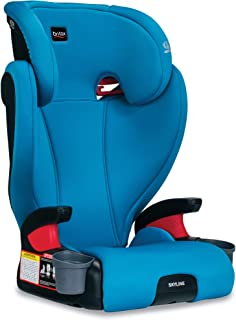 product image for Britax Skyline 2-Stage Belt-Positioning Booster Car Seat - Highback and Backless | 2 Layer Impact Protection - 40 to 120 Pounds, Teal