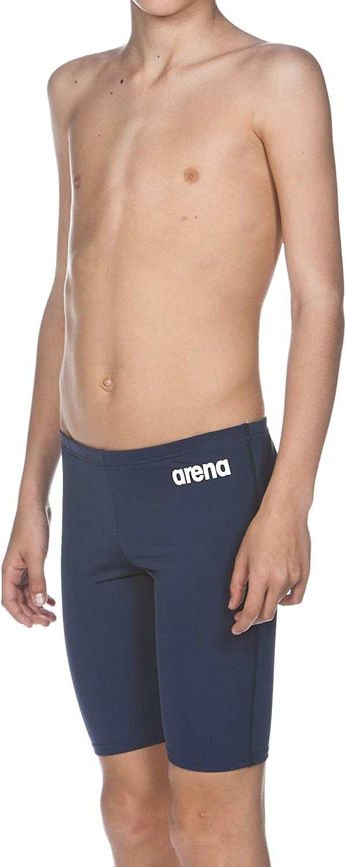 Manufacturer size:2XL Arena Boys Training Solid Jammer Swim Trunk Size 29 Navy//White