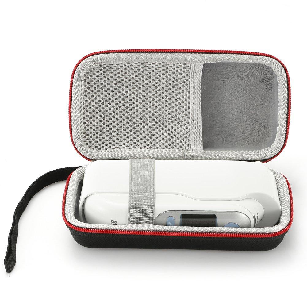 Termómetro - Estuche de Viaje Duro para el Termómetro Digital de Oído Braun: Amazon.es: Electrónica