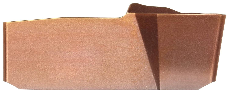 0.022 Corner Radius Neutral Cut 1 Cutting Edge 0.185 Cutting Width GC1125 Grade Multi-Layer Coating 40 Insert Seat Size Pack of 10 Sandvik Coromant T-Max Q-Cut Carbide Grooving Insert N151.3-A185-40-4G 4G Geometry