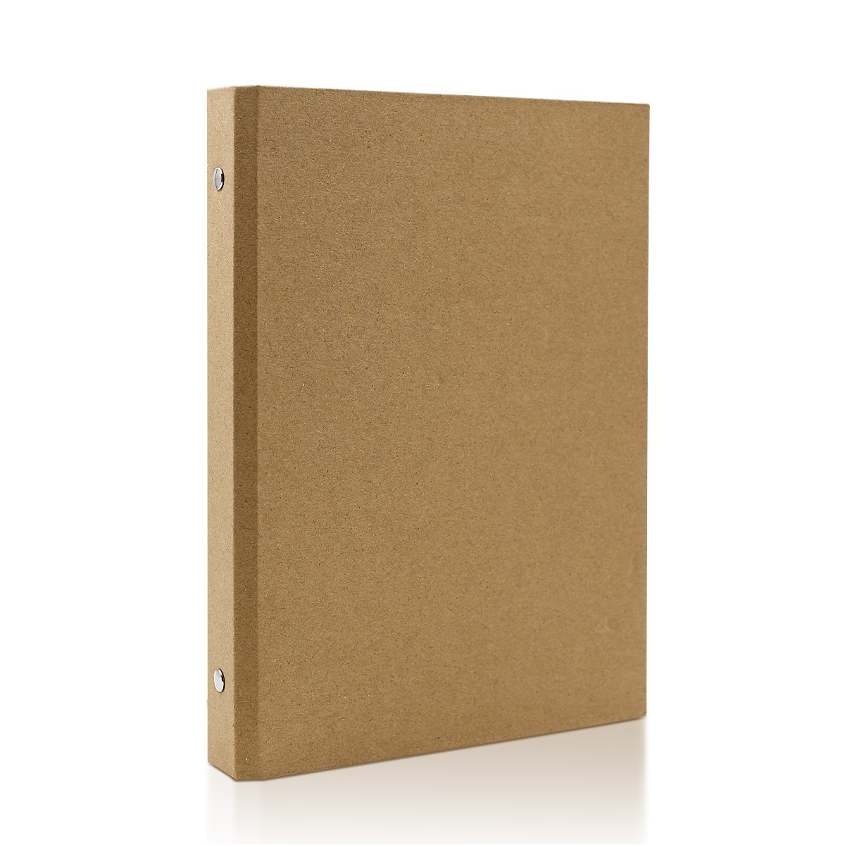 A5-6 Holes Kraft Paper Planner Notebook Cover Ring Binder Tong Yue