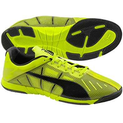 528ad85d5c45 Image Unavailable. Image not available for. Color  Puma Mens Neon Lite 2.0  Indoor Soccer Shoes ...