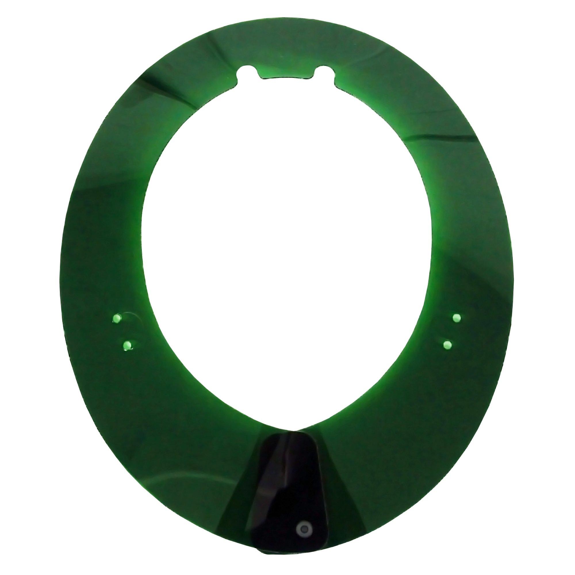 Jackson Safety A-S1 Full Brim Sun Shade (14461), Adapt Hard Hat for Shade, Green, 1 Sunshade / Order