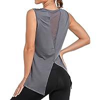 Sylanfia Yoga Camiseta sin Mangasde Fitness para Mujer Entrenamiento para Mujer Camisetas Gimnasia sin Mangas Espalda…