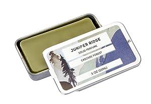 Juniper Ridge Cascade Forest Solid Perfume - .5 Oz