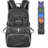 Bekahizar Lightweight Backpack 35L Foldable Hiking Daypack Packable Travel Day Bag for Outdoor Camping Cycling Trekking Day Trips