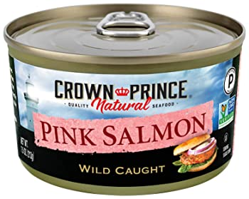 Crown Prince Natural Pink Canned Salmon