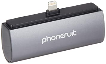 PhoneSuit 986005 - Cargador de 2600 mAh para Apple iPhone 5 ...