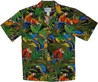 Sky KY´s Original Camisa Hawaiana, JungleParrot, Black M: Amazon.es: Ropa y accesorios
