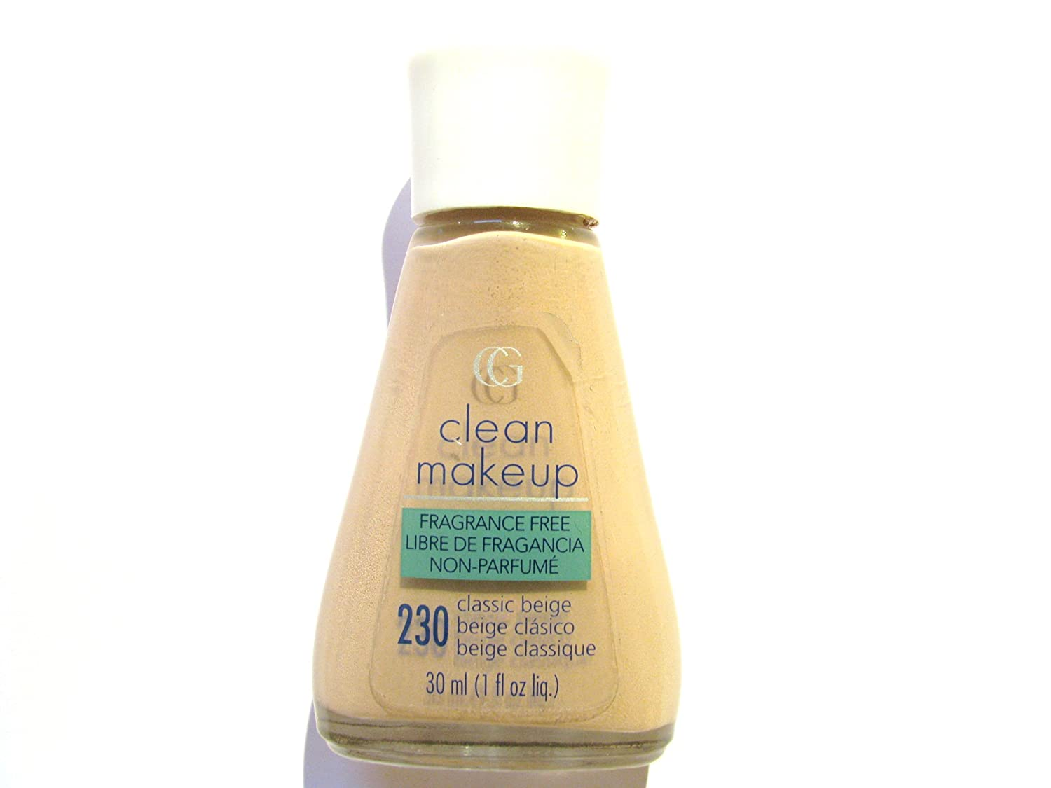 COVERGIRL CLEAN FRAGANCE FREE MAKEUP #230 CLASSIC BEIGE B001SYYJD6