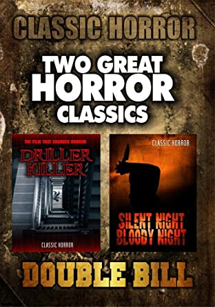 Amazoncom Classic Horror Double Bill Driller Killer And Silent