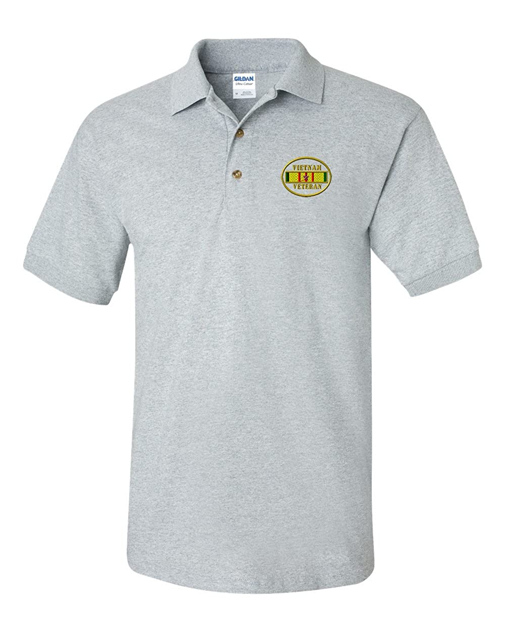 Vietnam Veteran Custom Personalized Embroidery Embroidered Golf Polo