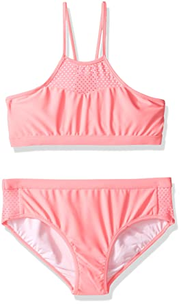 8ae4ba3b702cd Amazon.com: Seafolly Big Girls' Summer Essentials Apron Tankini: Clothing