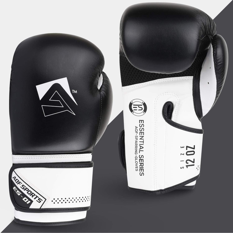 AQF Gant De Boxe Formation /À La Boxe Gants MMA Gants De Boxe Homme /& Femmes pour Kickboxing Combattre Muay Thai Et Sac De Boxe